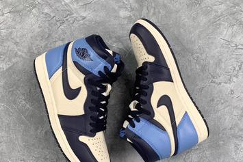 Air Jordan 1.UNC / Boleidian Blue新版本详细信息宣布