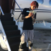 Rich The Kid Escorted Off Airplane Monday At LAX