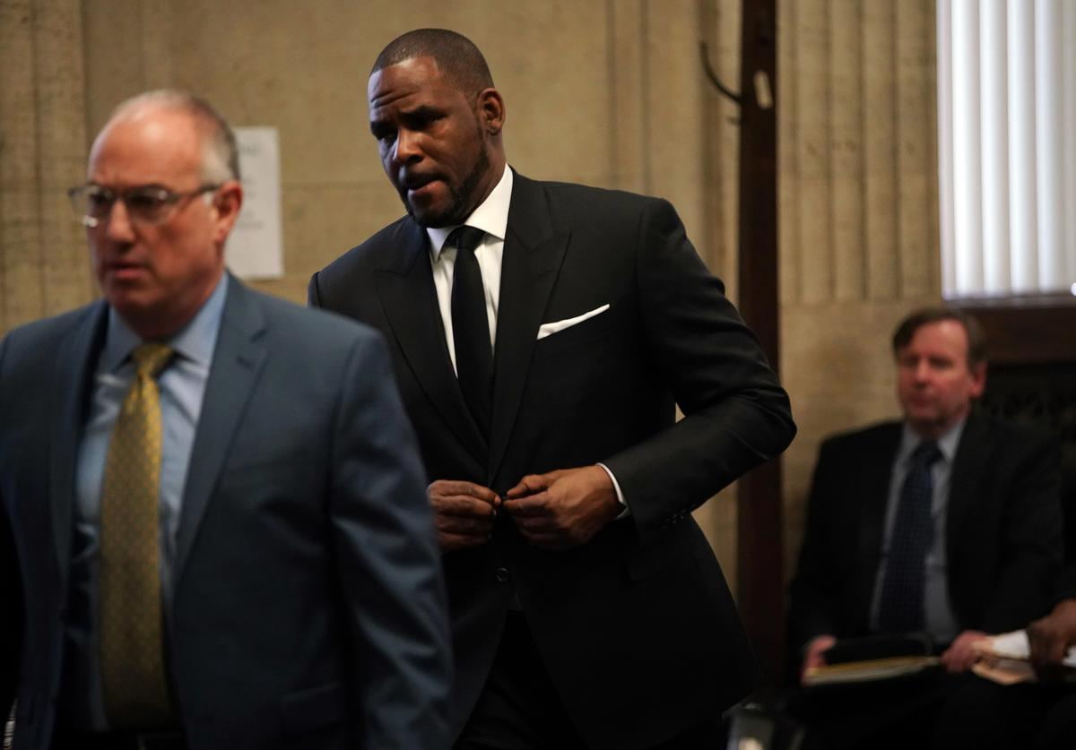 R. Kelly & his attorney