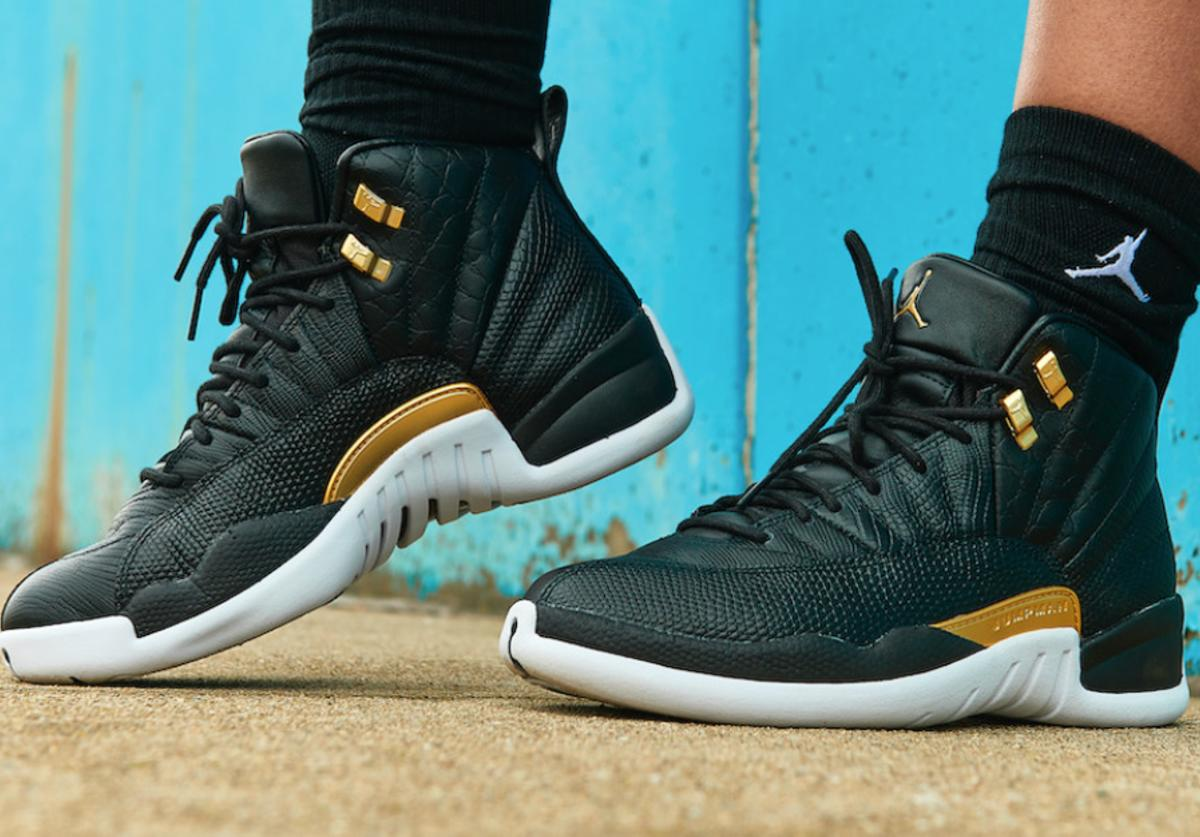 AJ12 Midnight Black