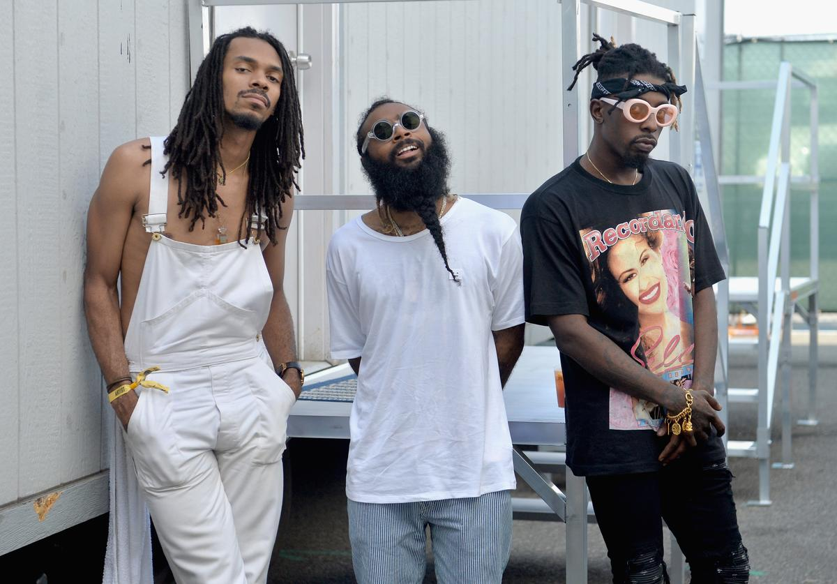 Flatbush Zombies of Beast Coast