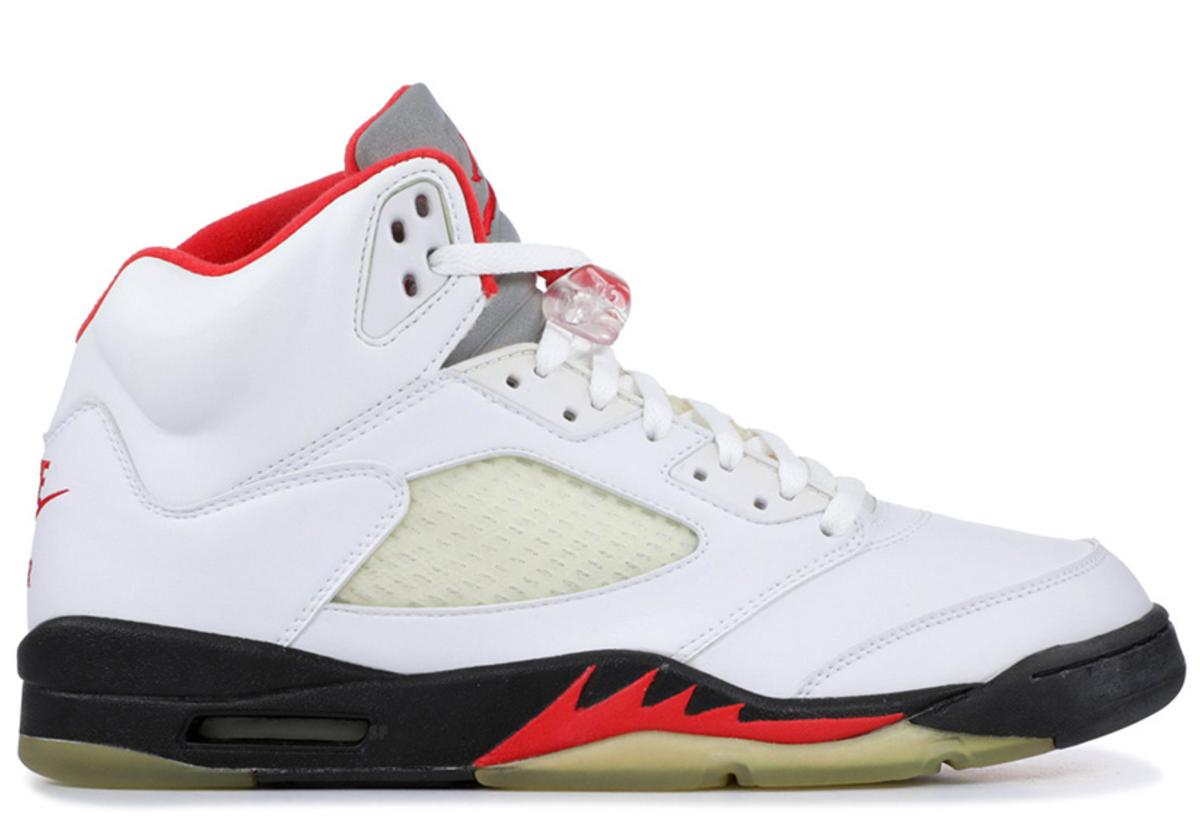 Fire Red 5s