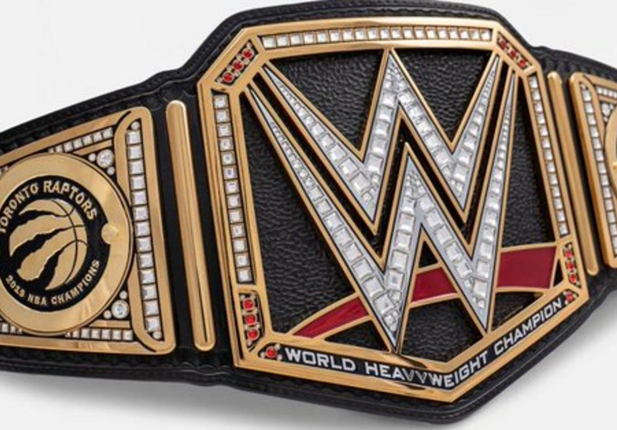 Raptors WWE belt