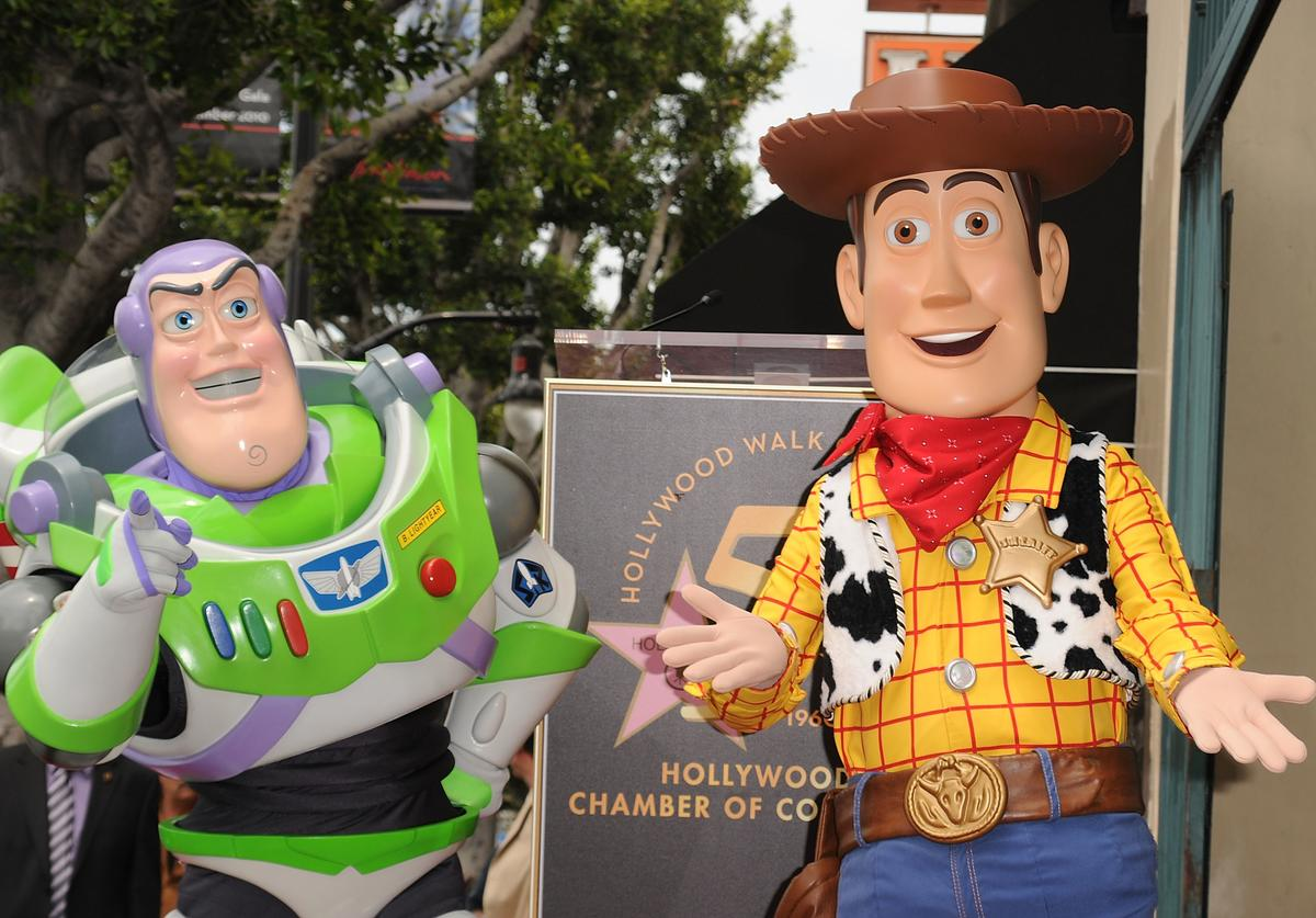 Imposter Buzz and Woody