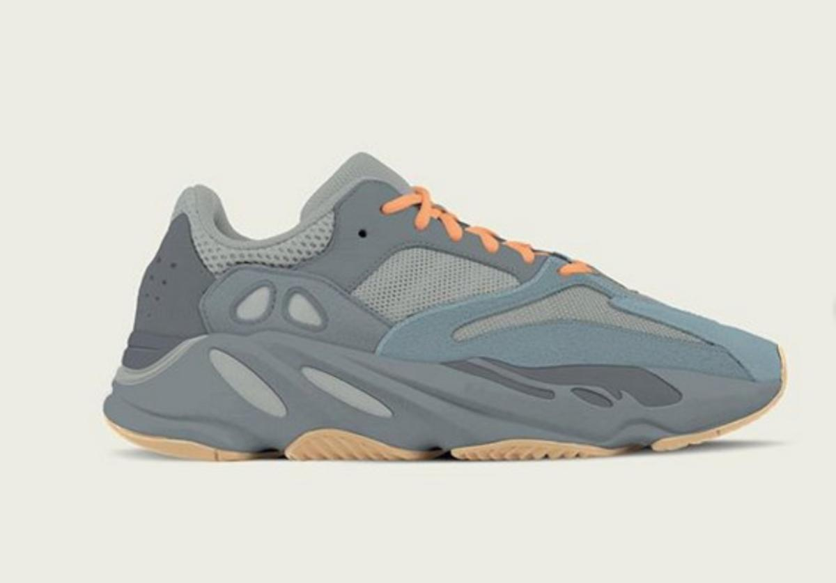 Teal Blue Yeezy Boost 700