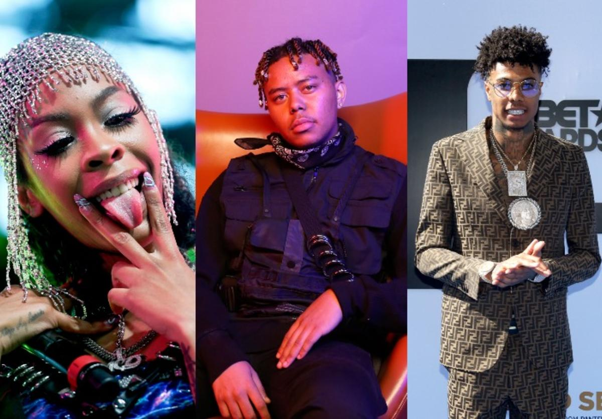 Rico Nasty, YBN Cordae, and Blueface