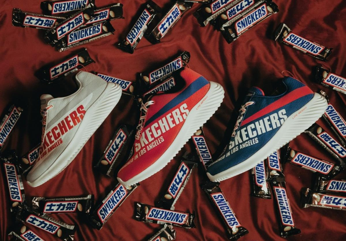 Snickers x Skechers