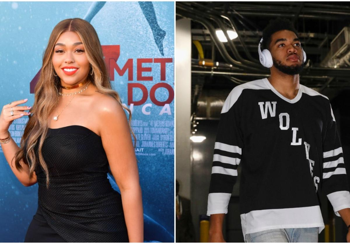 Jordyn Woods x Karl Anthony Towns
