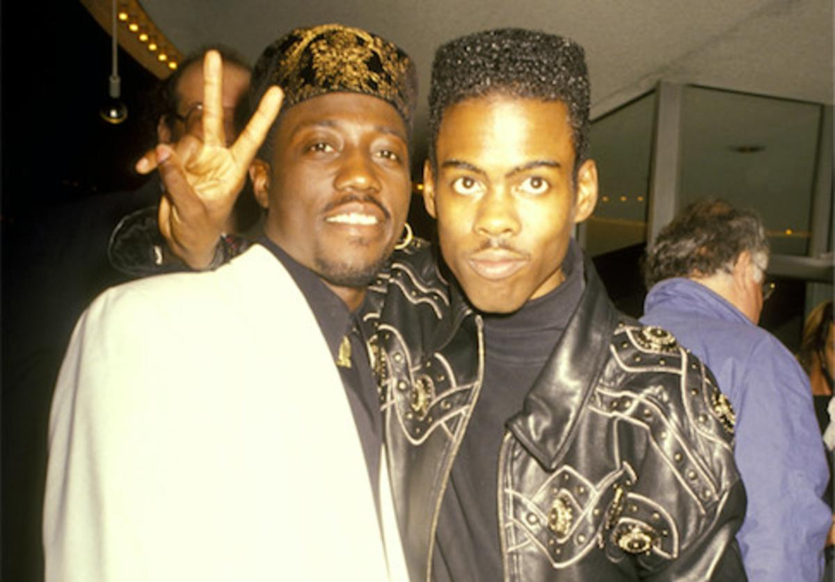 Wesley Snipes x Chris Rock