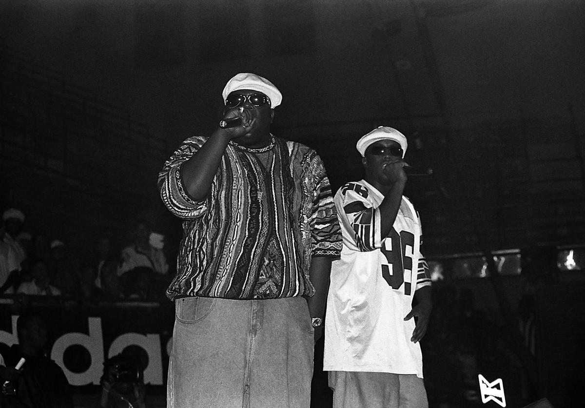 Notorious Big and Diddy
