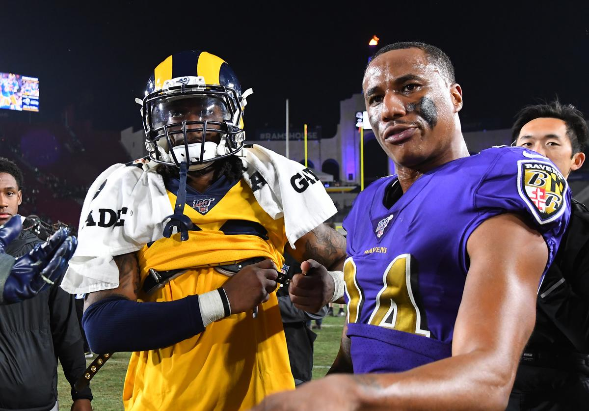 Marcus Peters x Gurley