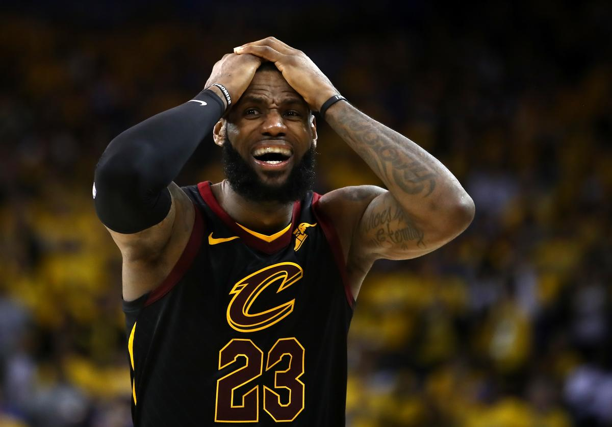 LeBron James is appalled