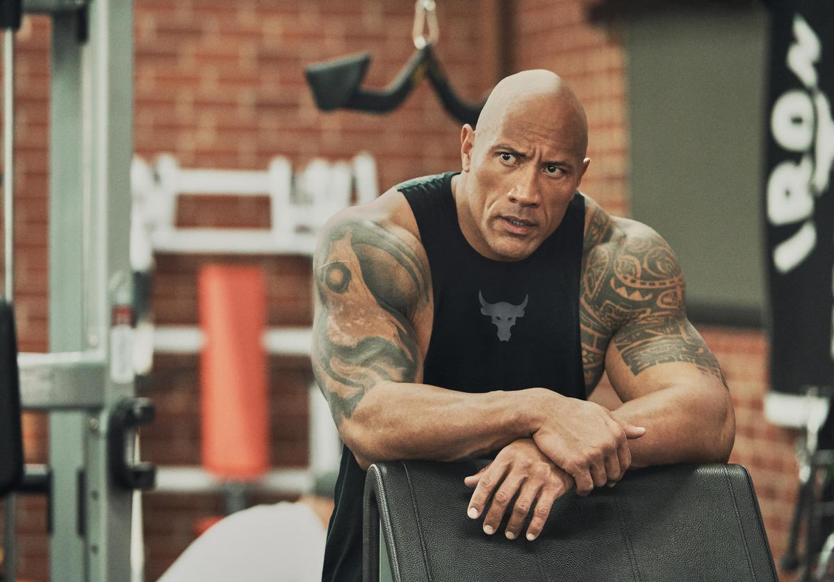 The Rock, Under Armour