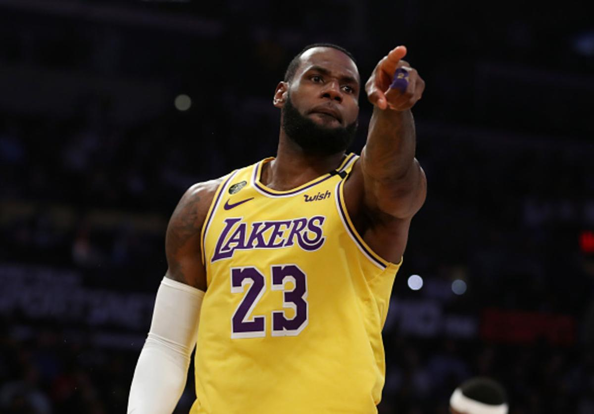 Lakers' LeBron James, Coronavirus