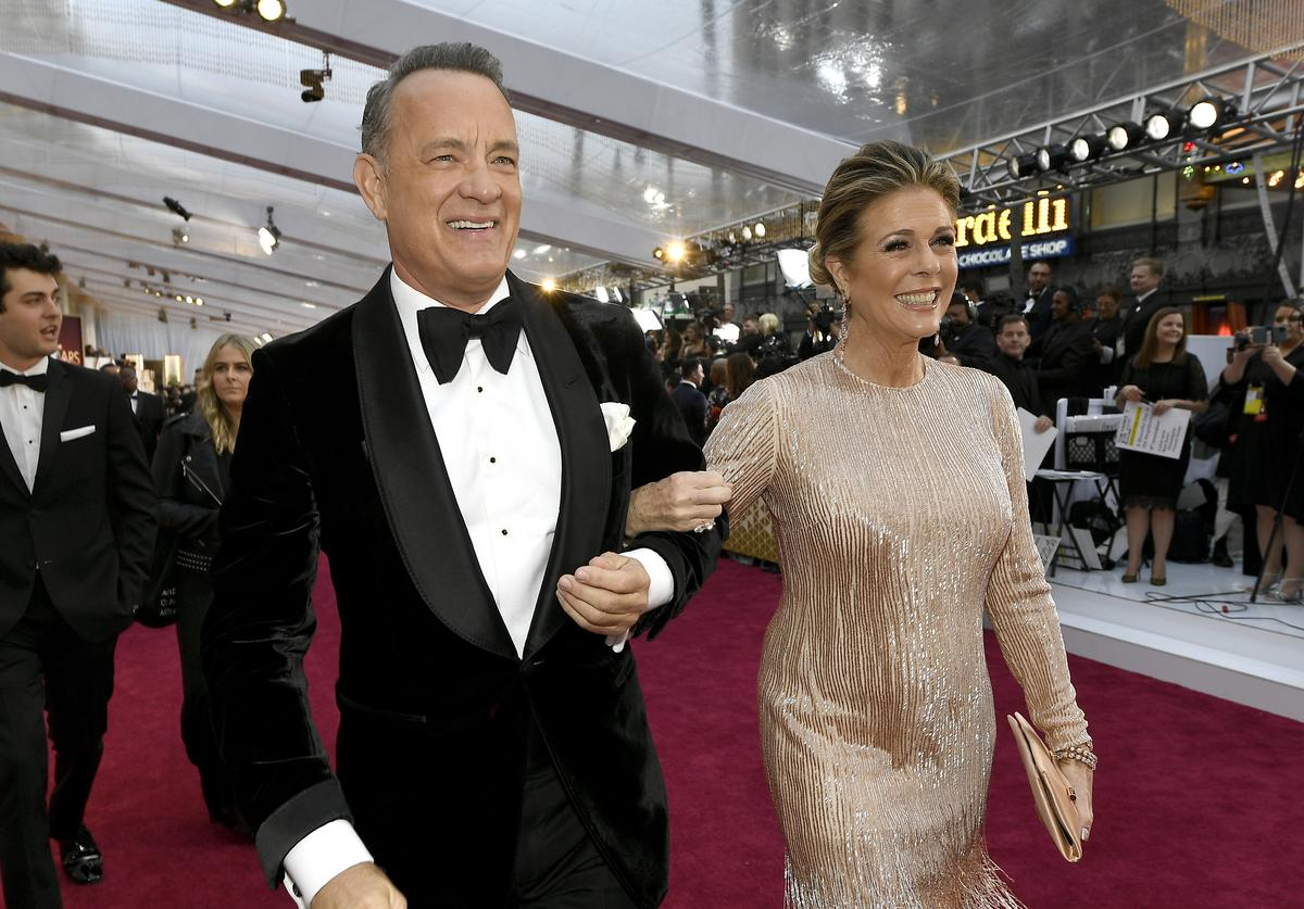 Tom Hanks x Rita Wilson