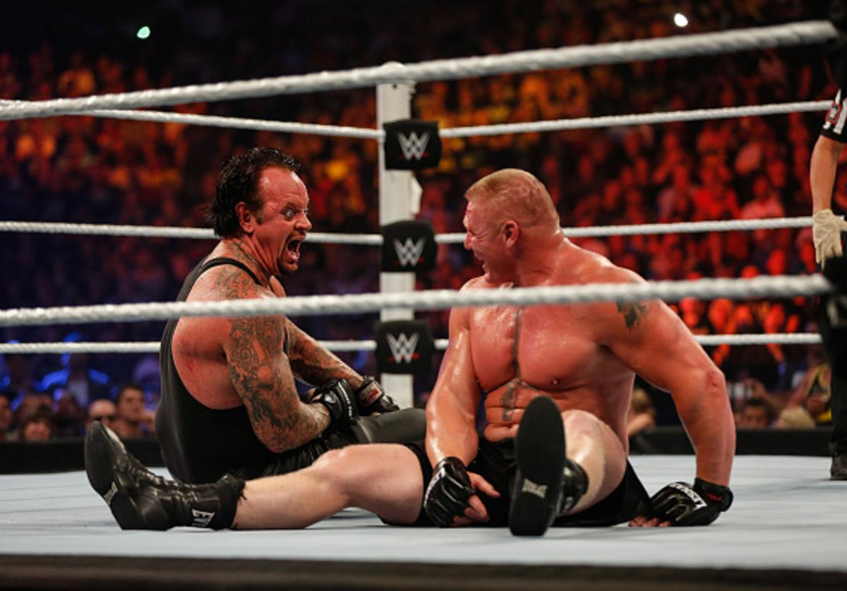 Undertaker x Brock Lesnar, Wrestlemania