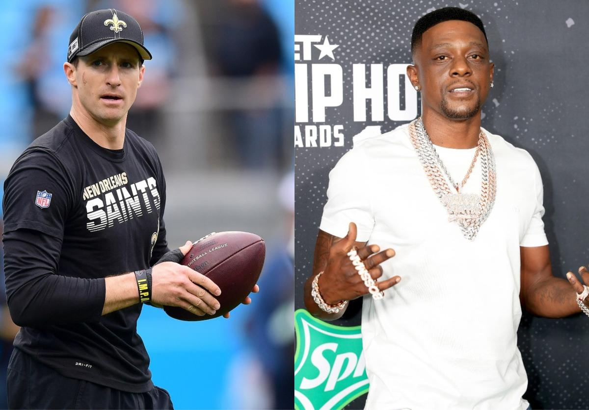 boosie badazz drew brees comments