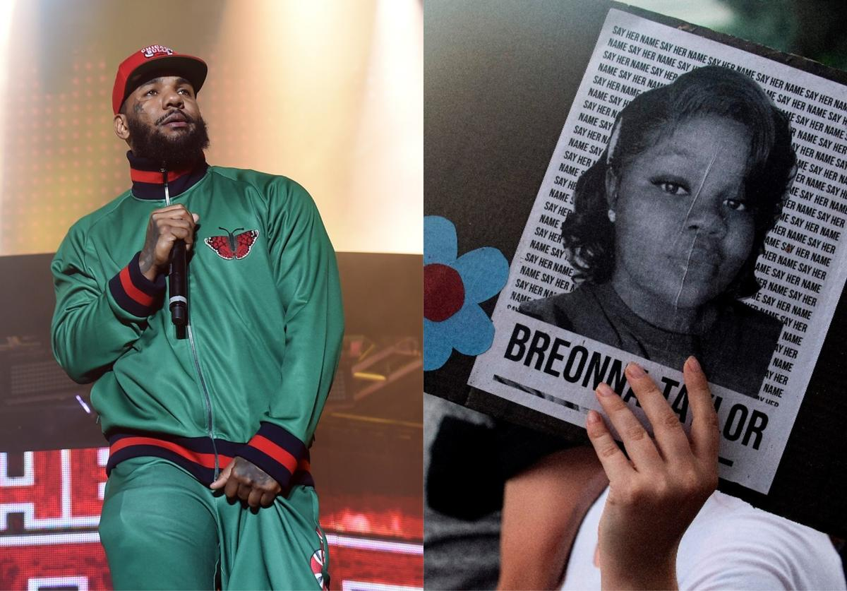 the game and breonna taylor photo