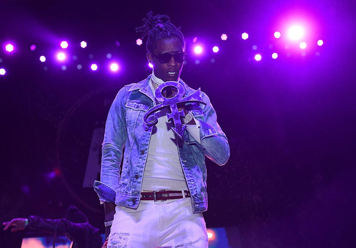 Young Thug performs at The Tabernacle on May 5, 2016 in Atlanta, Georgia.