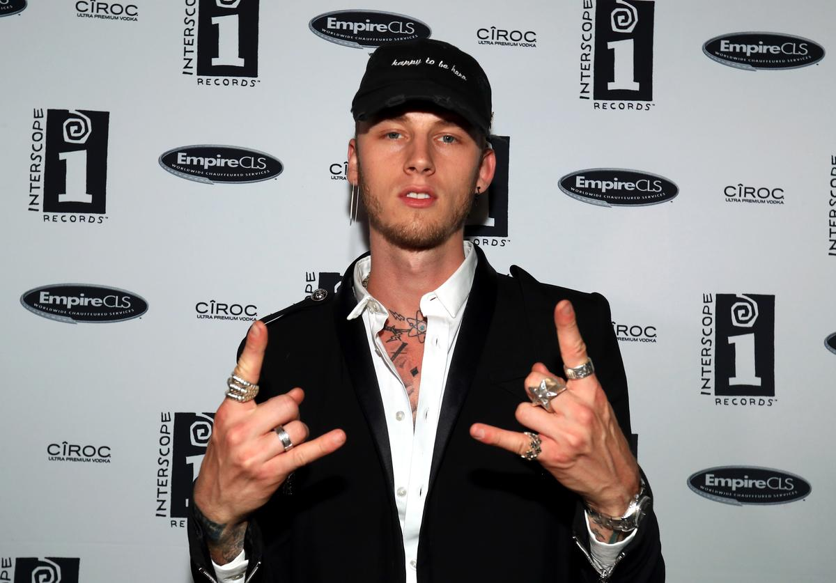 MGK Interscope BET Party