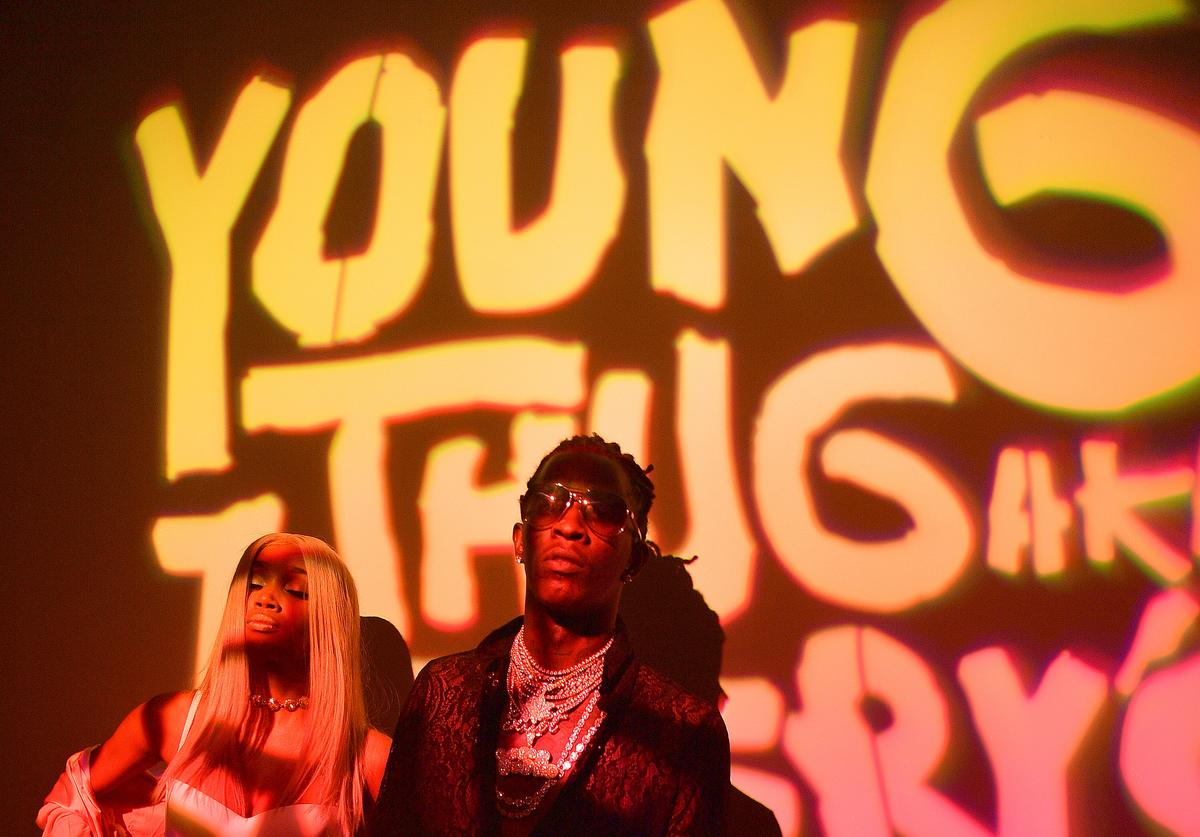 Young Thug Young Thug Celebrates 25th Birthday And PUMA AW16 Campaign Release In Atlanta