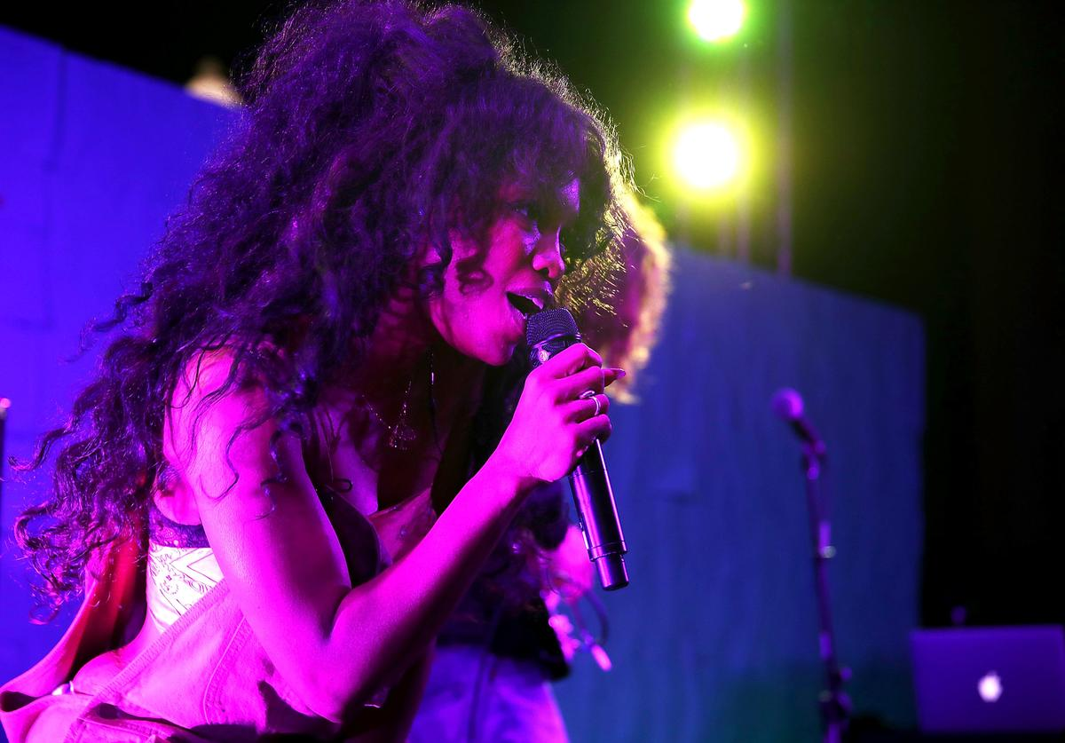 SZA HBO Celebrates New Season Of 'Insecure' With Block Party In Inglewood