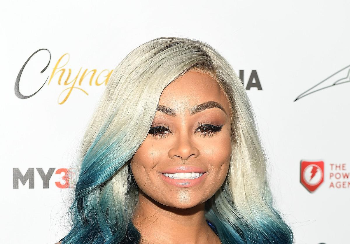 Blac Chyna at her own Figurine Doll Launch