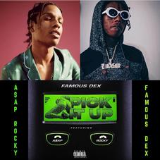 """Famous Dex And A$AP Rocky Play With Fire On """"Pick It Up"""""""
