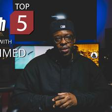 Jahmed Reveals His Favorite Wrestlers & Bigs Up His Hometown On This Week's Top 5s