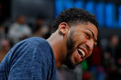 """Anthony Davis Trolls Buddy Hield For Hitting DeMarcus Cousins: """"Still Trying To Grab Nuts!!"""""""
