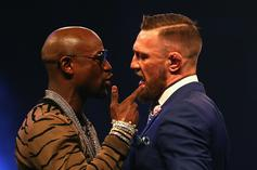 Mayweather Responds To Rumor That McGregor Got KO'd While Sparring