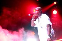 DMX Freestyles About Tax Problems Outside Court House