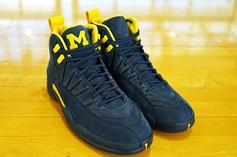 "Air Jordan 12 ""Michigan"" Rumored To Release This Year"