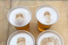 """MLB Warns Yankees: """"Beer Foam Art"""" Featuring Players Is Prohibited"""