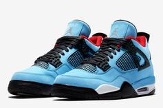 Travis Scott x Air Jordan 4: Official Images & Release Info