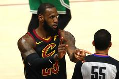 Cavs' LeBron James Makes NBA History In Game 4