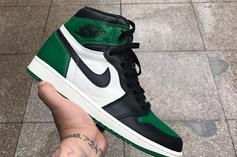 """Pine Green"" Air Jordan 1 Releasing This Fall: First Look"