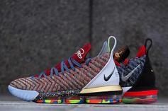 """Nike LeBron 16 """"1-5"""" Combines First 5 Colorways: Release Info"""