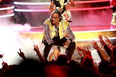 Quavo Proves He's Got Game In Basketball Match Against Meek Mill