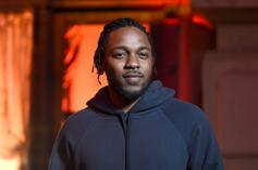 Kendrick Lamar Visits Los Angeles Lakers' Practice On Friday