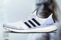 """Game Of Thrones x Adidas UltraBoost """"White Walkers"""": First Look"""