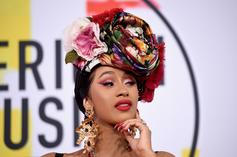 Cardi B's Nail Technician Shares The Process Behind Rapper's Blinged Out Claws