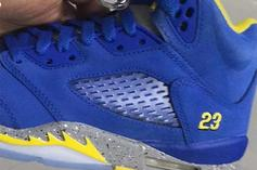 "New ""Laney"" Air Jordan 5s Releasing In 2019: First Look"
