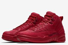 """Air Jordan 12 """"Gym Red"""" Slated For Black Friday: Official Images"""