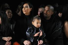 Kanye West Wears Unreleased Yeezys On Daddy-Daughter Date With North