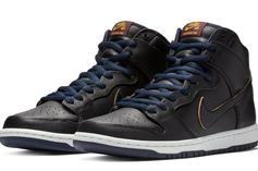 """NBA X Nike SB Dunk High """"Cavaliers"""" Detailed Images And Release Info"""