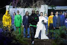 Virgil Abloh Uses Football Helmets At Off-White Fashion Show