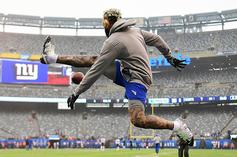 Odell Beckham Jr. Shows Off His Custom Sneakers From The Shoe Surgeon