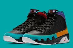"Air Jordan 9 ""Dream It Do It"" Official Images Released"