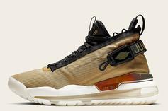 """Jordan Proto Max 720 Is Coming In A Stylish """"Gold And Black"""" Colorway"""
